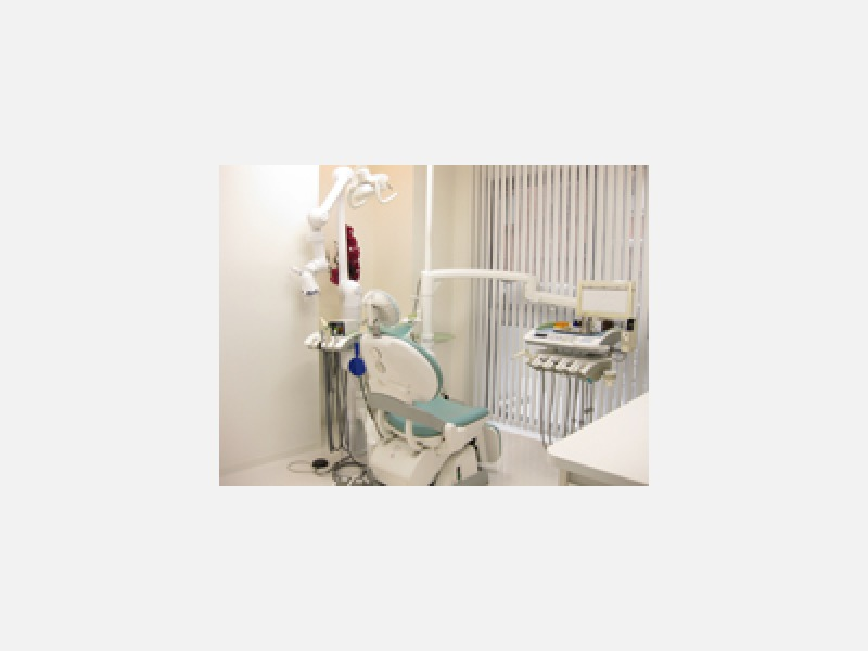 閉塞感のないオープンな診療室