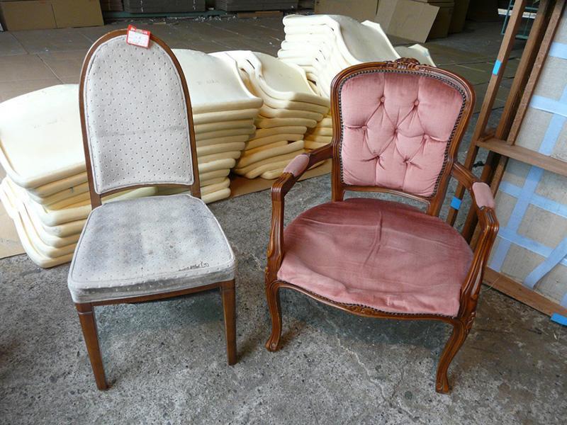 張替は家具の廃棄物を減らす環境にやさしい作業です。