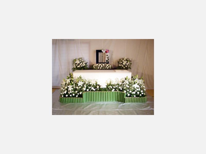 50万円パック 洋花オリジナル祭壇