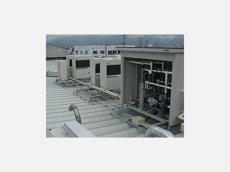 冷却水チラーユニット