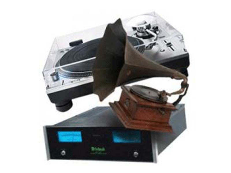 蓄音機等の機材も買取致します