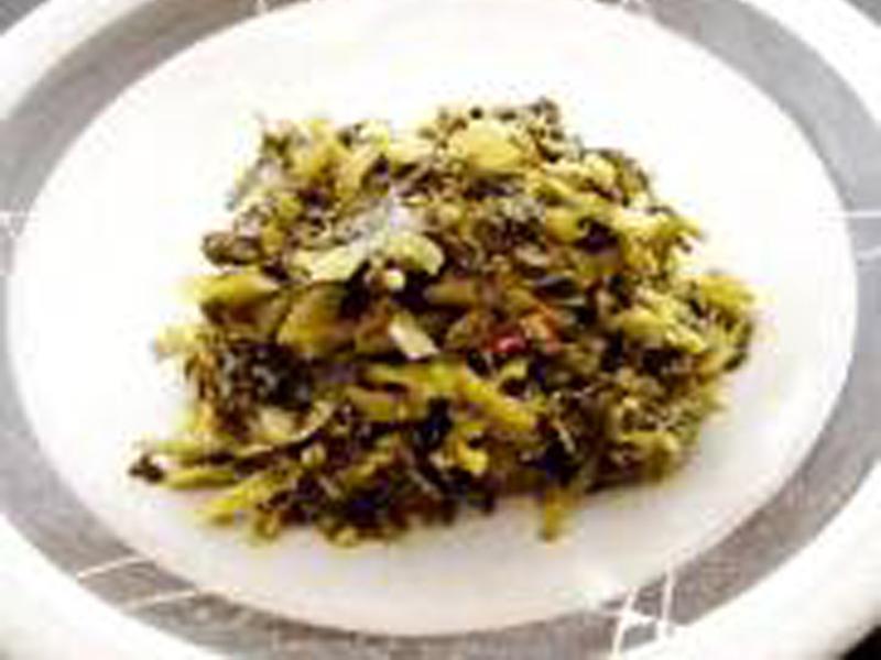 ピリ辛青菜