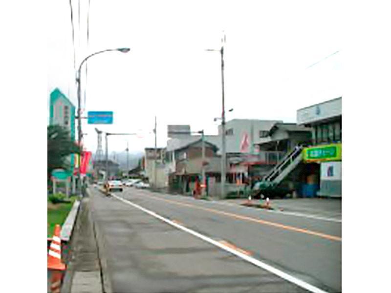 徳島市方面から眺めた様子