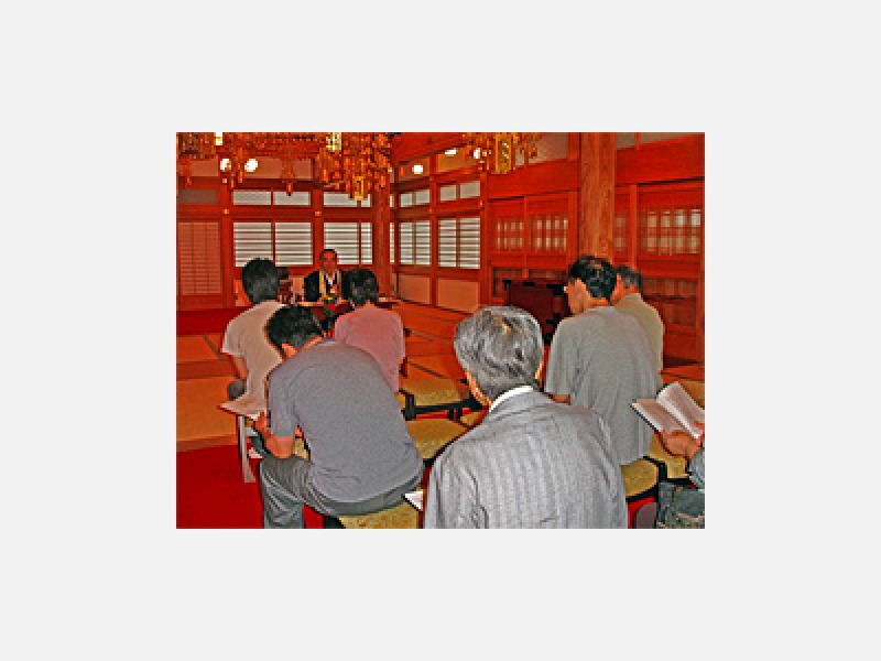 新盆の為の説明会(6月下旬~7月上旬)