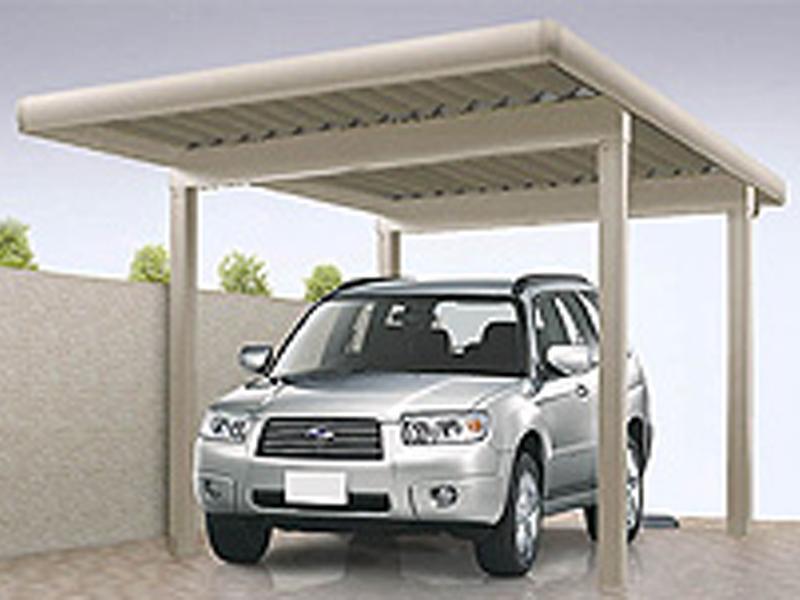 カーポートは大切な車を、紫外線や雨・積雪などから守ります