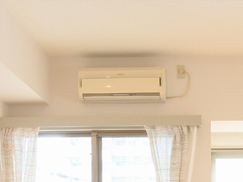 エアコン取り外しできます。