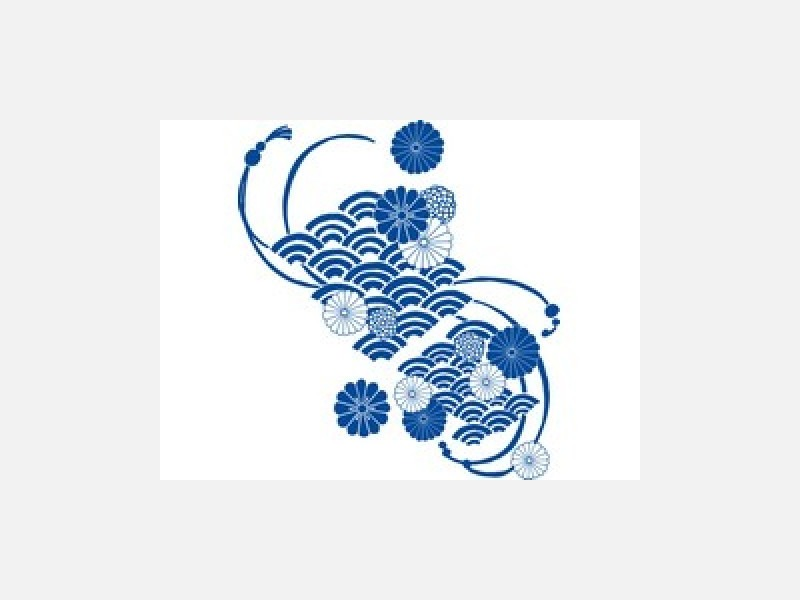 天然染料、藍独特の深い青をお楽しみ下さい