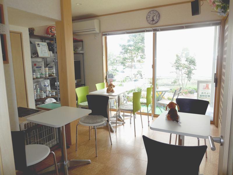 カフェ風の談話室