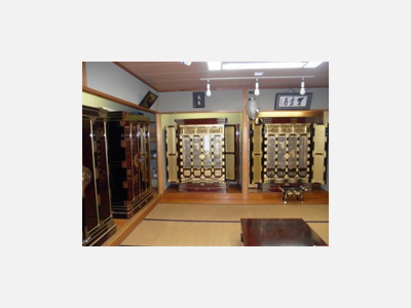 金仏壇和室