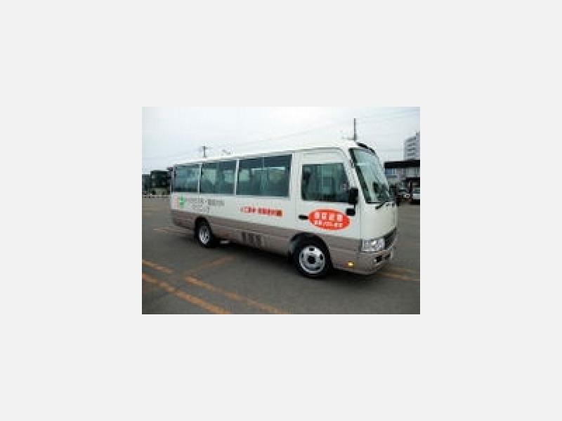 安心安全な無料バス送迎を行っております。