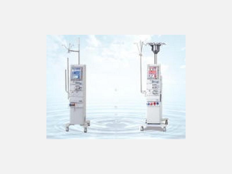 最新式国産透析装置を導入しております。