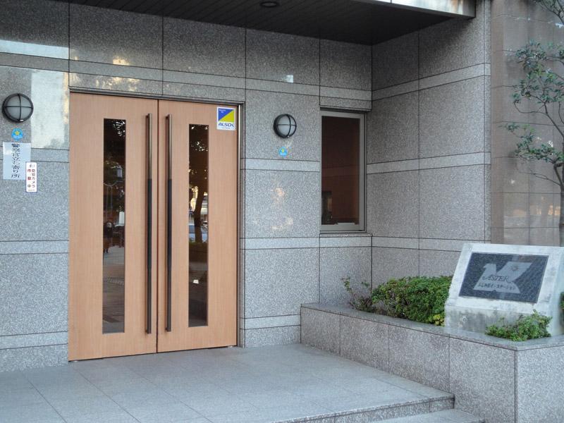 事務所建物入口