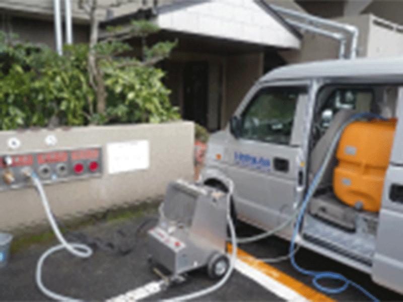 消火栓送水管点検