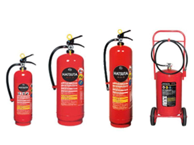 各種・消火器取り扱っております