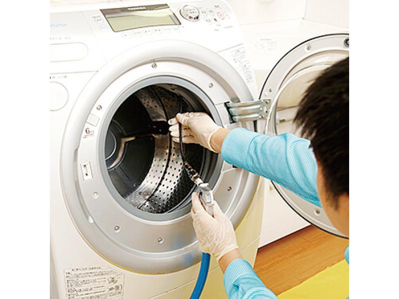 全自動洗濯機の除菌クリーニング