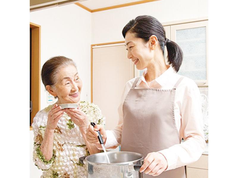 ご家族に代わって、ご高齢者様の暮らしをお手伝いいたします。