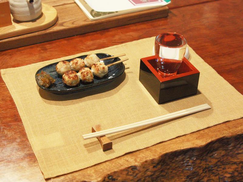 地鶏と日本酒