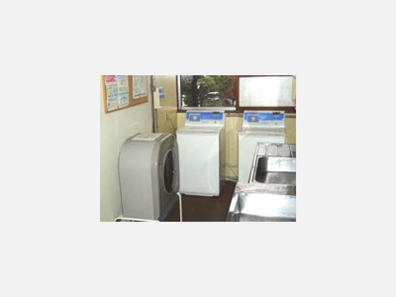 ■コインランドリー・乾燥機完備