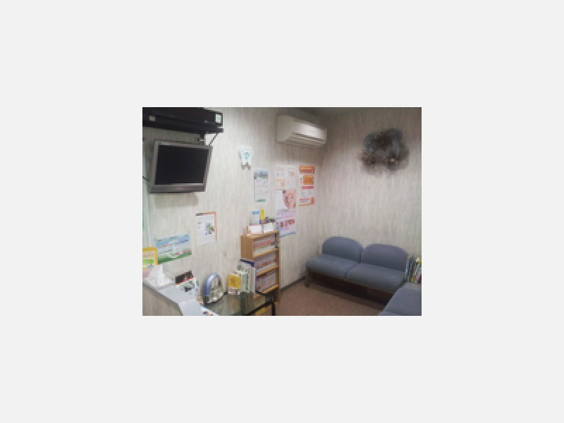 ホッと落ち着ける雰囲気の待合室