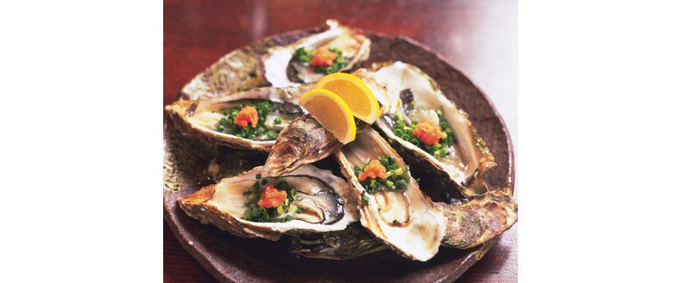 室津の牡蠣をご賞味ください。