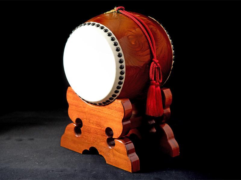 岩手の風土が生んだ和太鼓は味わい深い音色です
