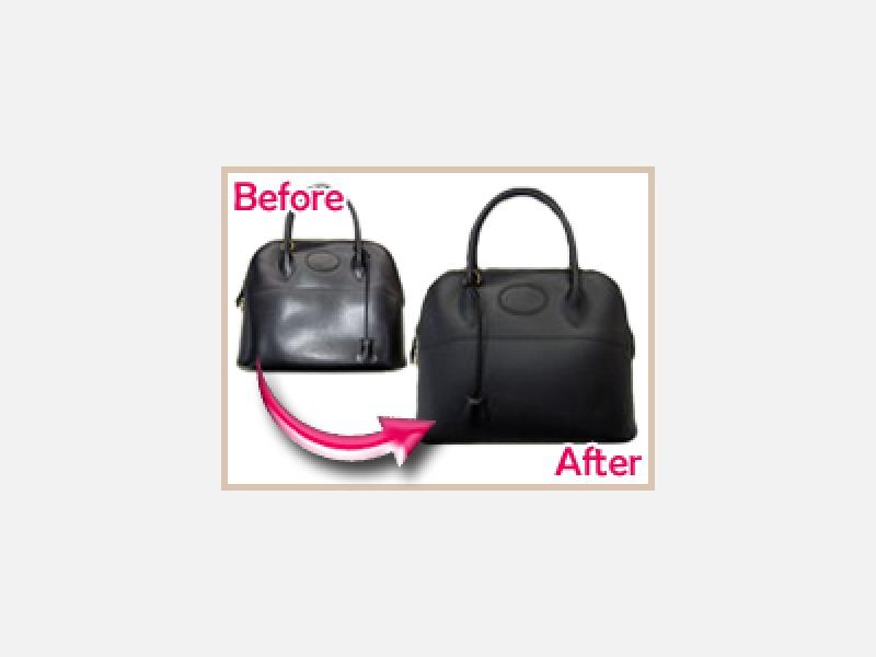 バッグの擦れや色はげなど補修