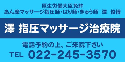 澤指圧マッサージ治療院ロゴ