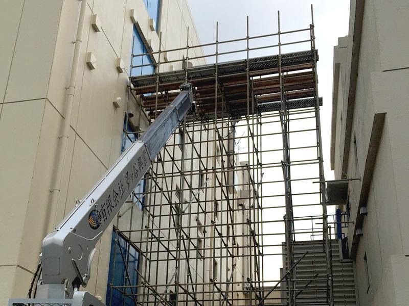 徹底した安全対策、お客様に満足いただける足場設計