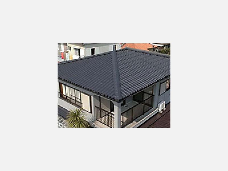 ★リフォーム用屋根材。優れた耐久性で新築屋根にもおすすめ。