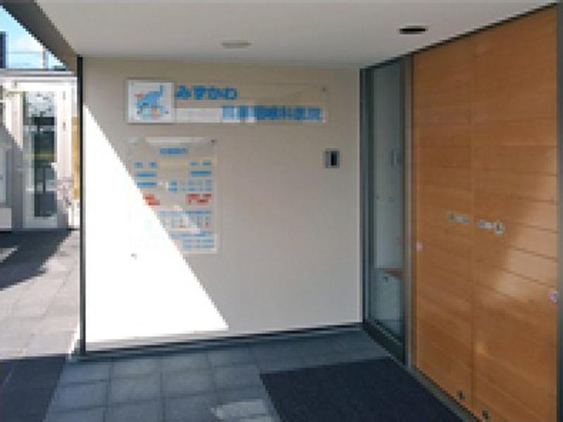 医院玄関入口