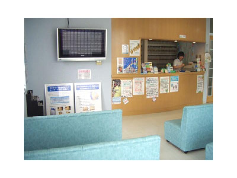 ○待合室(症状の重い方の中待合室もあります。)