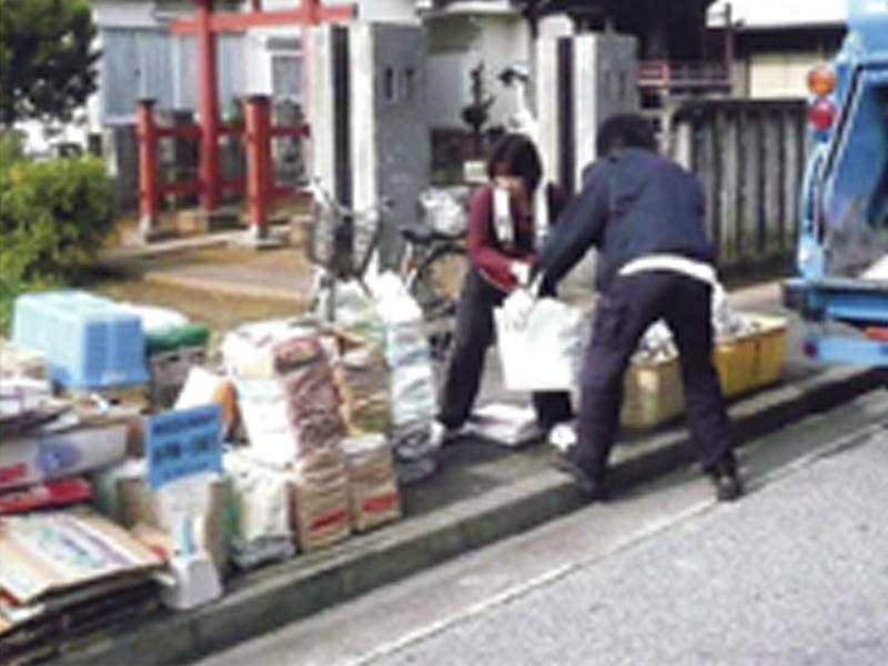 古紙リサイクルは名取市の東北紙業へ