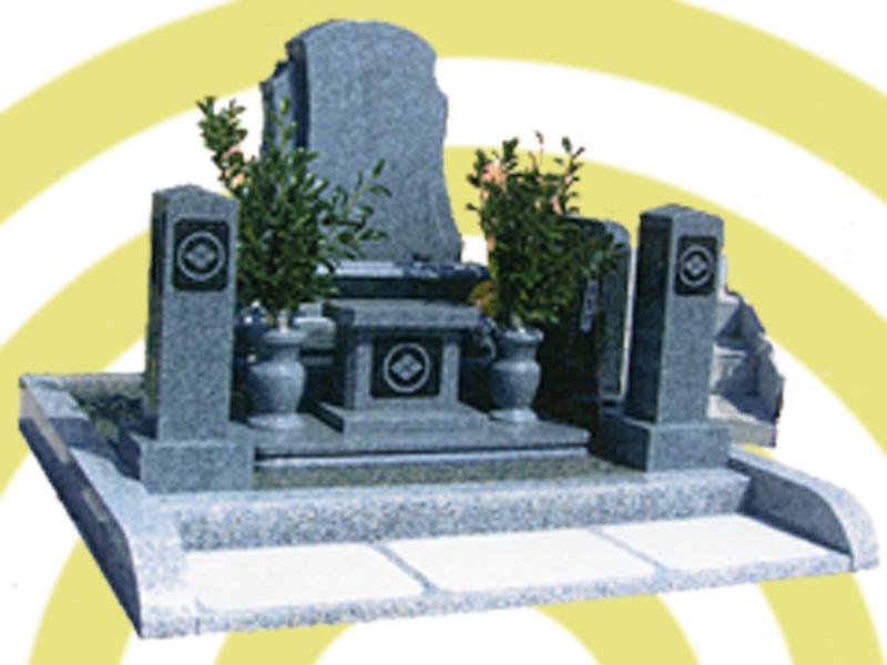 デザイン墓「愛型」墓石巻石Bタイプ