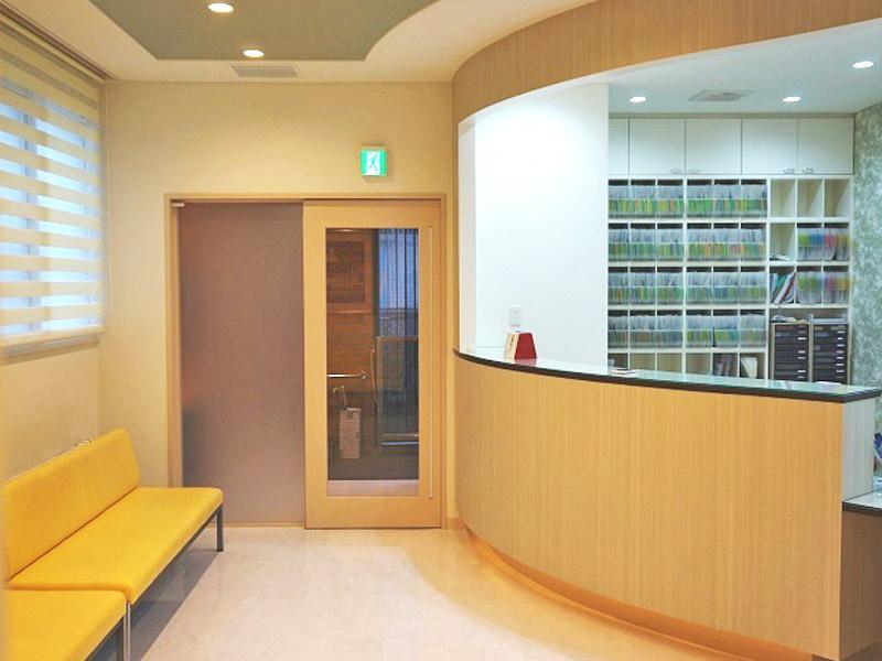額賀歯科医院 待合室