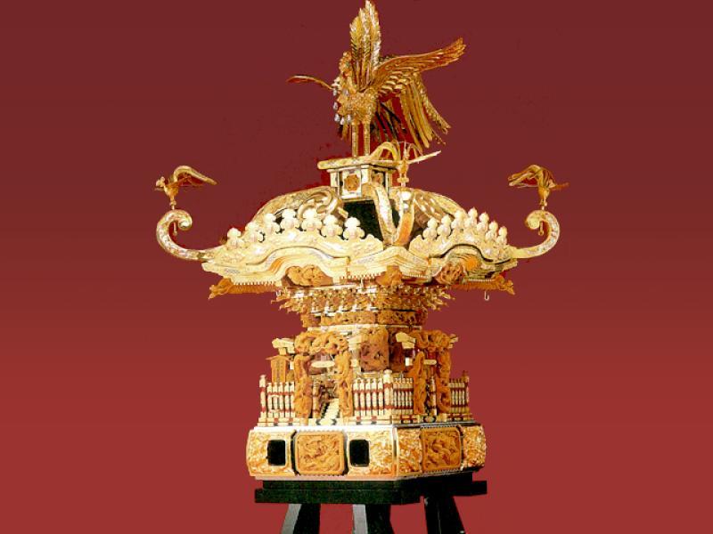 神輿(漆塗品)