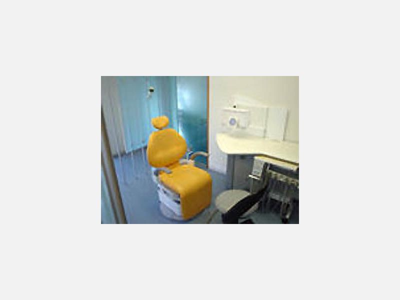 カウンセリングモードの椅子が動き説明後、治療します