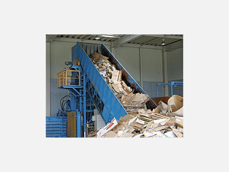 古紙類のリサイクル☆各営業所、事業所により収集運搬します。