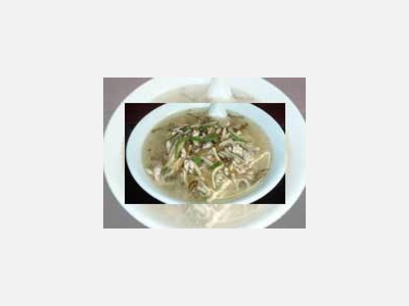 当店自慢の逸品:豚肉と高菜のそば:中華の台所香港屋新橋店