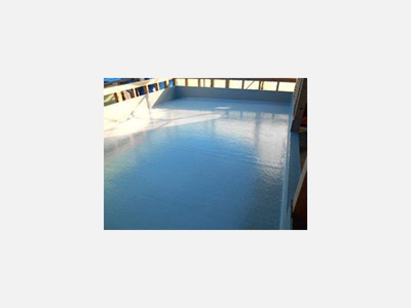 FRP防水工事・屋上・屋上防水