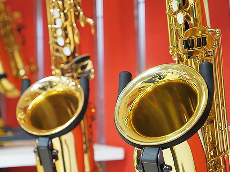 店内楽器多数