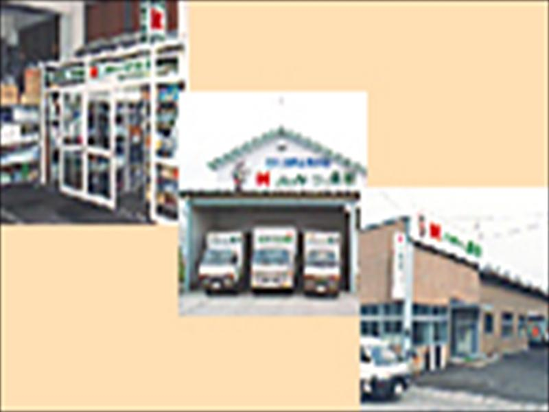 上:秋田北営業所 中:横手営業所 下:大館営業所