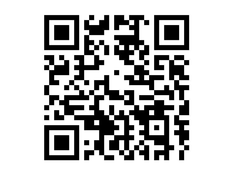 携帯で読み取ると、携帯版ホームページに接続できます