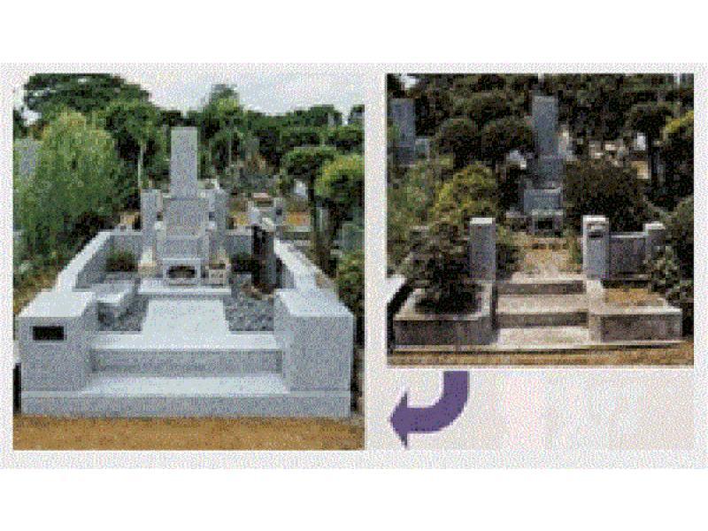 松戸市のゑびす家石材店は古いお墓のリフォーム致します