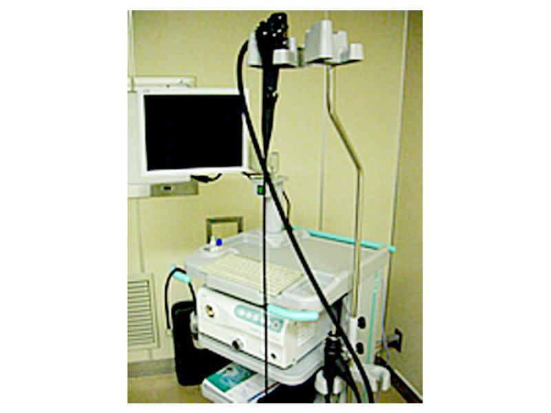 ■胃カメラの機械です。