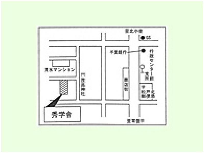「行政センター支所前」下車、茂呂神社の近く