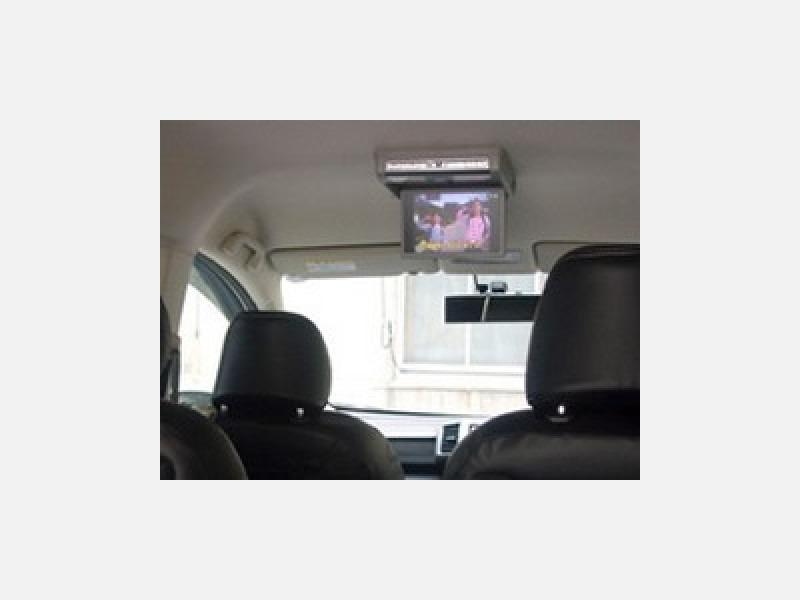 車内にはテレビを搭載。