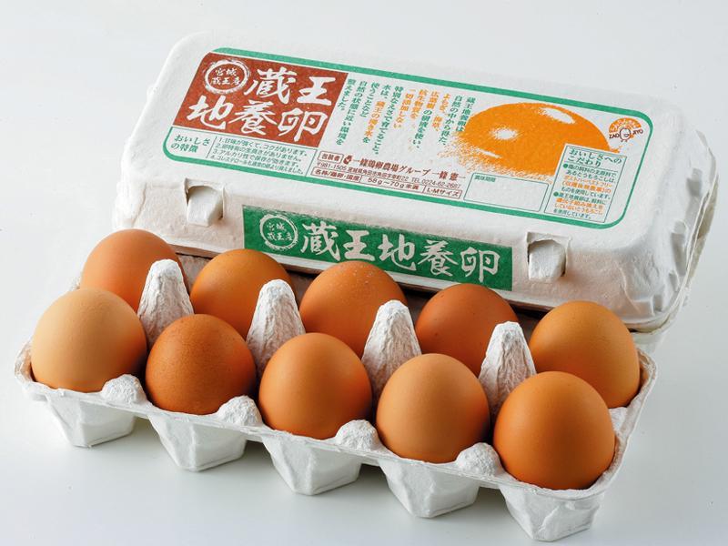 蔵王地養卵 赤玉