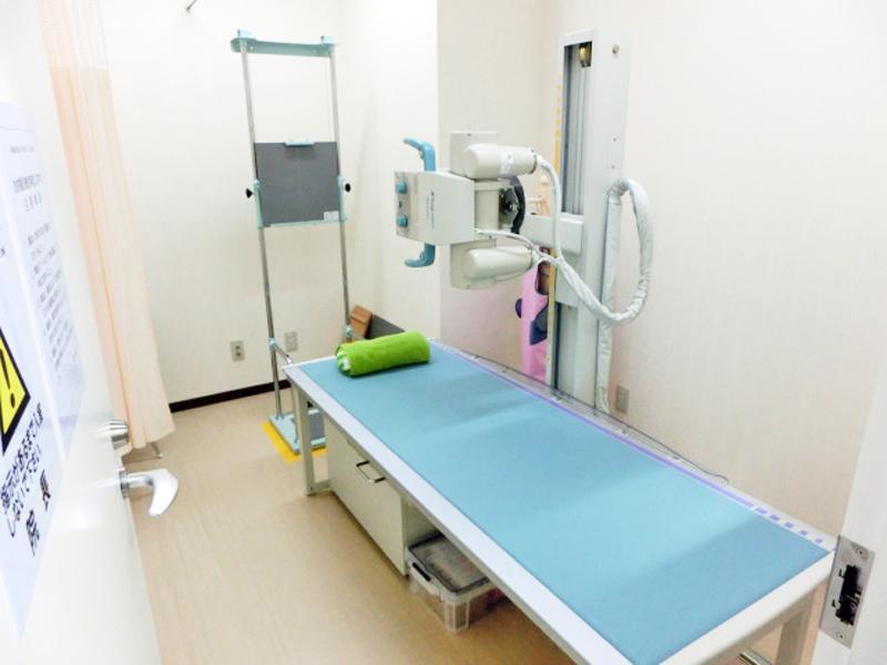 <X線検査>X線検査、骨密度検査に迅速に対応