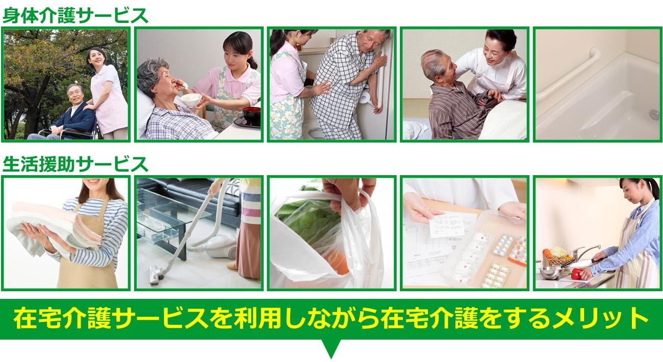 コイワ介護家事サービスのサービス内容