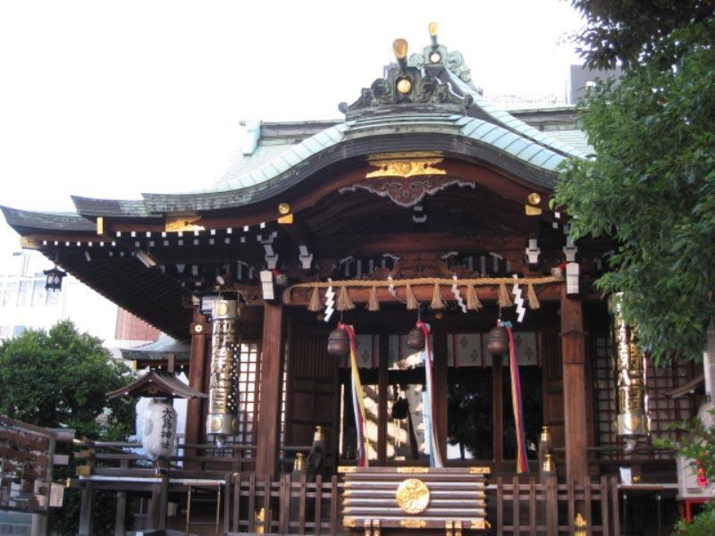 目黒区最古の神社